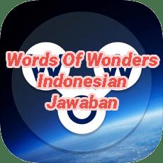 Words Of Wonders Crossword Answers Indonesian