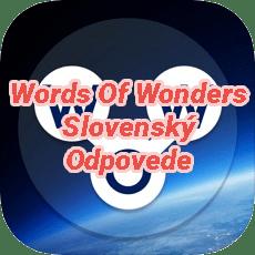 Words Of Wonders Crossword Answers Slovak