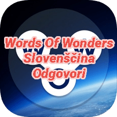 Words Of Wonders Crossword Answers Slovenian