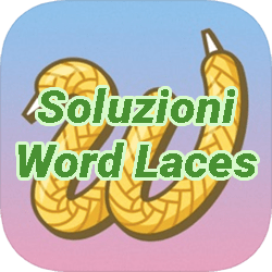 Word Laces Italian Answers