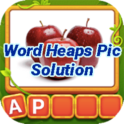 Word Heaps Pic Puzzle Solution
