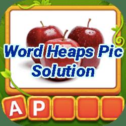 Word Heaps Pic Français Solution