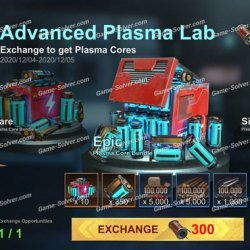 State of Survival: Get The Most Plasma Core In Plasma Lab