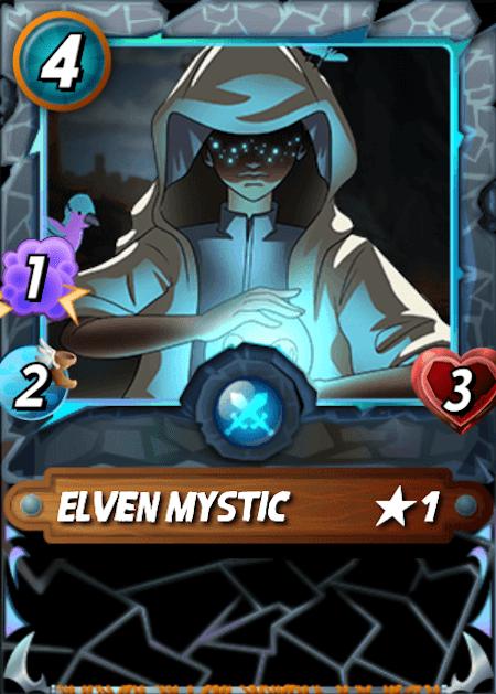 Splinterlands Elven Mystic