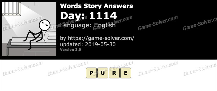 Words Story Day 1114 Answers