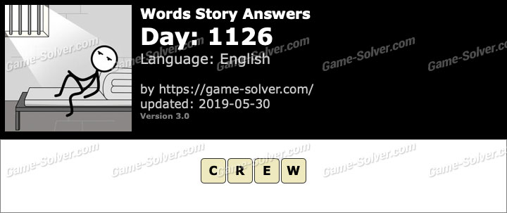 Words Story Day 1126 Answers