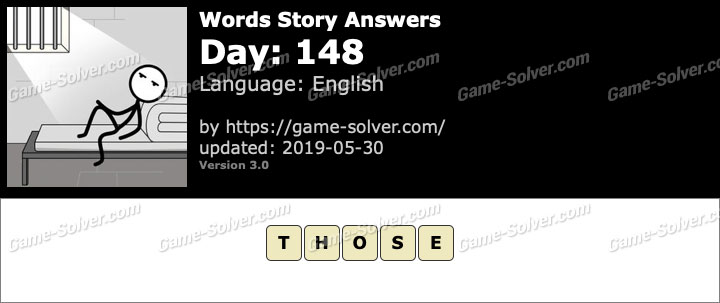 Words Story Day 148 Answers