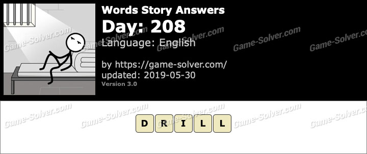 Words Story Day 208 Answers