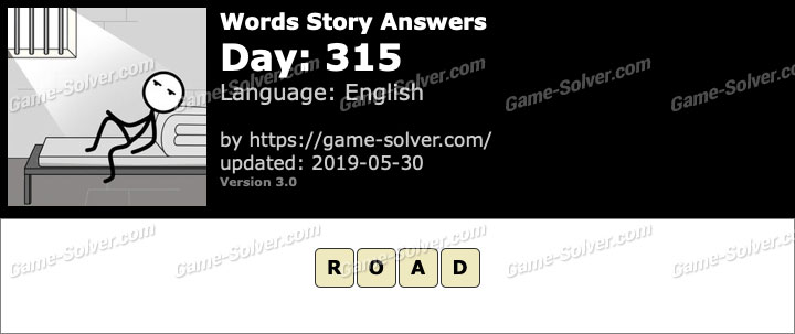 Words Story Day 315 Answers