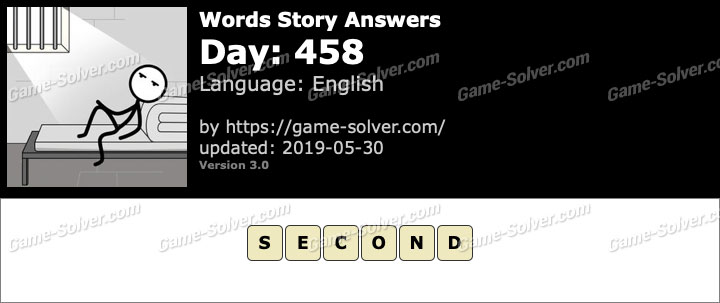 Words Story Day 458 Answers