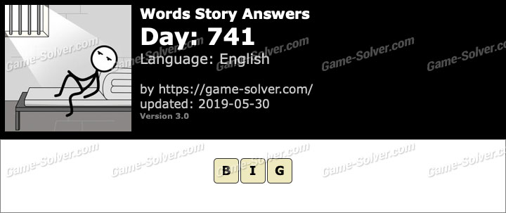 Words Story Day 741 Answers