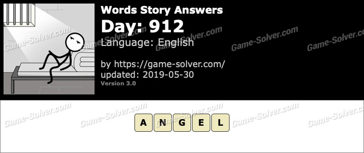 Words Story Day 912 Answers
