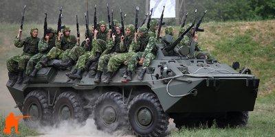 Размещение личного состава в боевой машине
