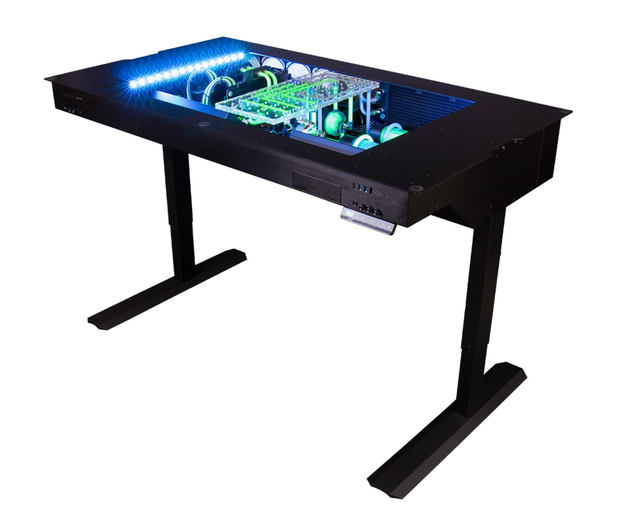 This Watercooled Gaming Desk Was Designed To Push Boundaries