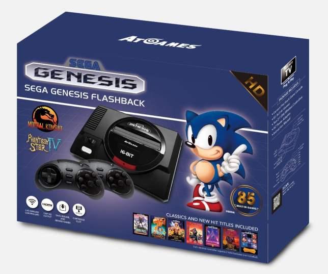 AtGames GenesisMD Flashback2017
