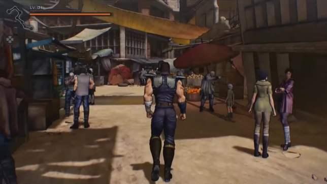 HokutoGaGotoku GamePlayTGS 01