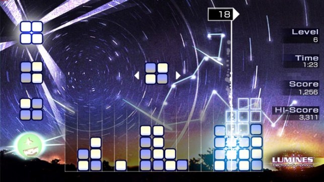 Lumines for iOSAndroid