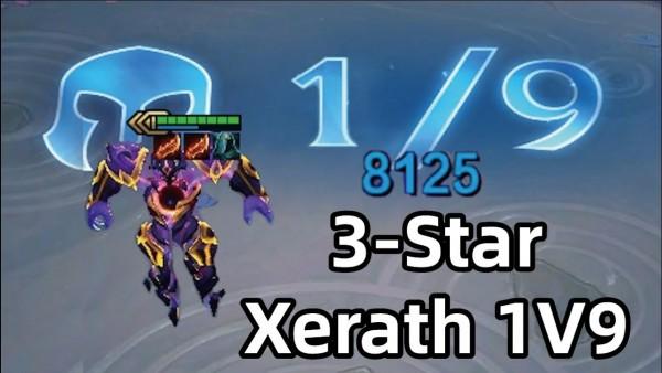 Sức mạnh vô địch của Xerath 3 sao