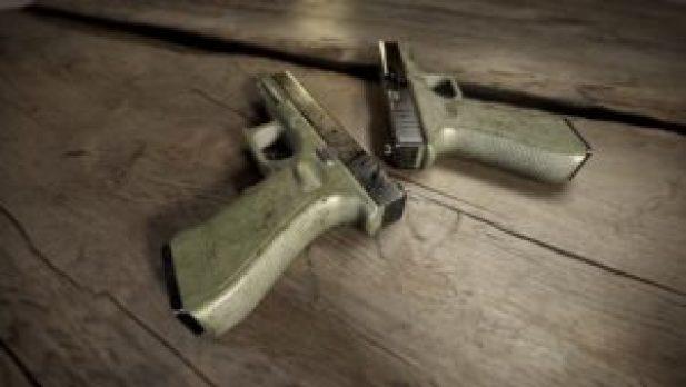 playerunknowns battlegrounds glock p18c guns survival pubg