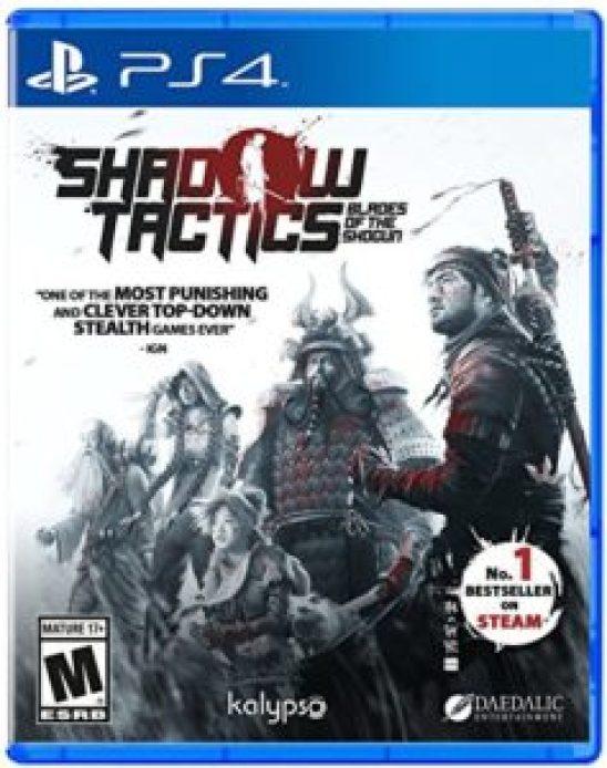 Calendrier des sorties jeux vidéo sur PS4 en Juillet 2017 Shadow Tactics