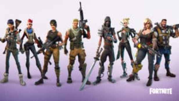 Fortnite classes héros epic game sand box survial rpg miencraft