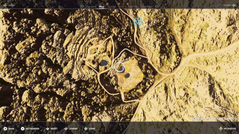 Assassin's Creed Origins - Emplacement Des Énigmes Papyrus Mort ou Vif solution