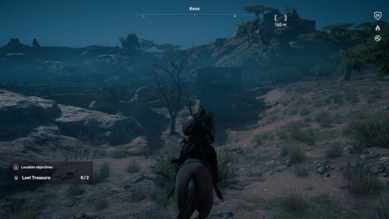 Ville Oubliée assassin creed origins papyrus solution