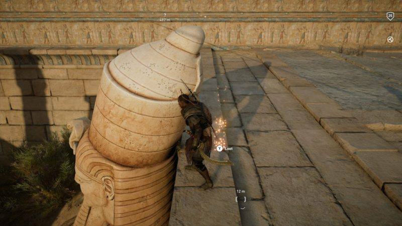 Assassin's Creed Origins - Emplacement Des Énigmes Papyrus Rage De Zobek solution