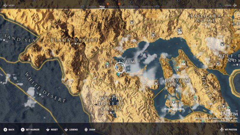 Assassin's Creed Origins - Emplacement Des Énigmes Papyrus La Tour Penchée Solution