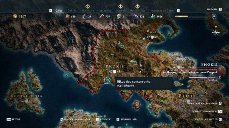 assassin creed odyssey soluce guide astuce secret ps4 xbox one kassandra alexios