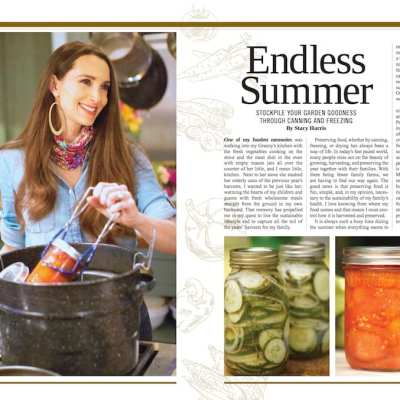 Summer Issue of Living Ready Magazine