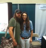Stacy Harris and Jase Robertson!!
