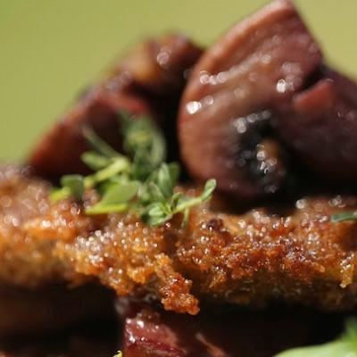 VENISON SCALOPPINE; the perfect dish