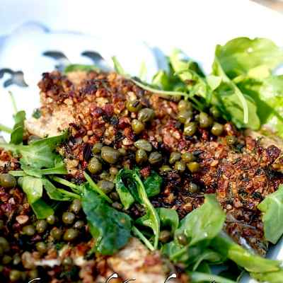 The Fish Have Come In: Herb Pecan Crusted Trout