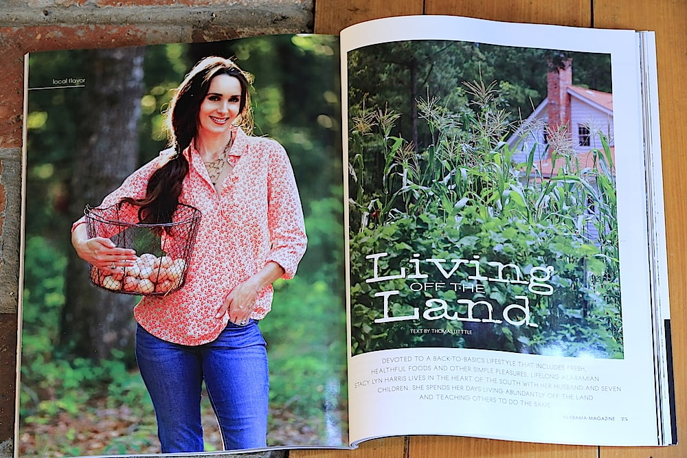 Stacy Lyn shares with Alabama Magazine her Simple Southern Sustainable Lifestyle and how it all began.
