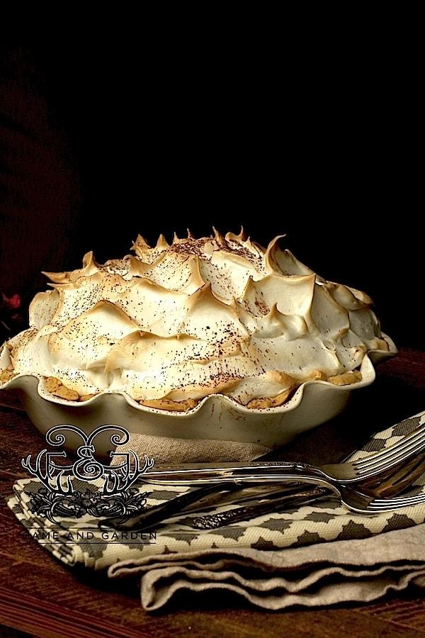 Grandmama's Chocolate Meringue Pie | Game and Garden | Stacy Lyn ...