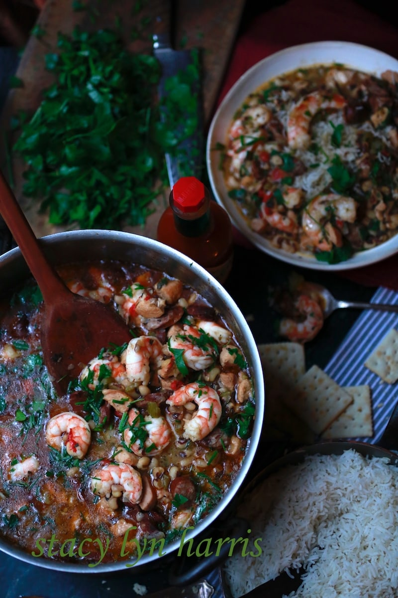 In my opinion, it's the perfect fusion food. Gumbo is a perfect mix of French, West African, and American Indian Cuisine. Each culture in Louisiana made their contributions to this dish.