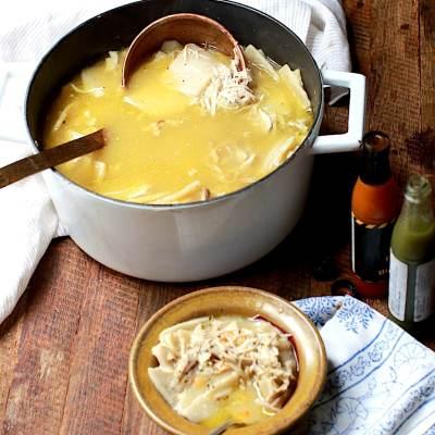 Homemade Chicken and Buttermilk Dumplings