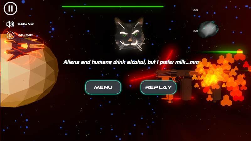 Wise Cat в Alco Invaders