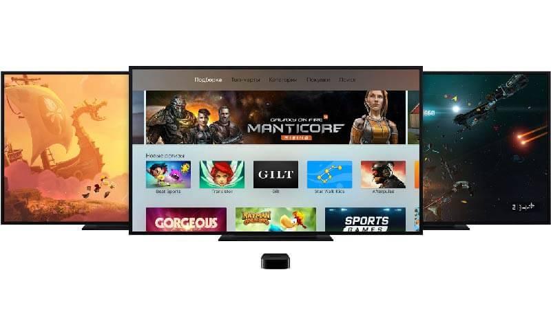 Игры для Apple TV, Apple TV