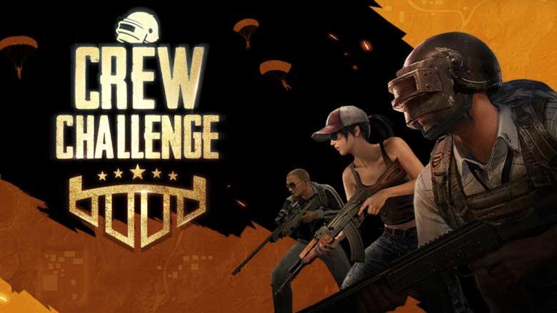 Crew Challenge PUBG Mobile