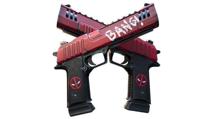 Deadpool Dual Pistols