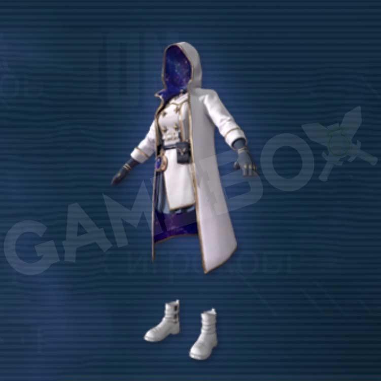 """костюм """"Галактический посол"""" PUBG MOBILE 1.5: IGNITION"""