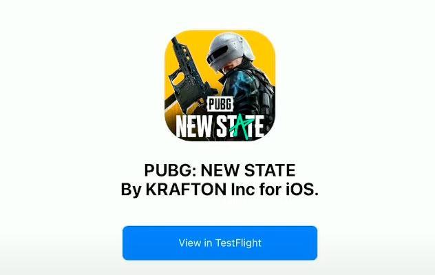 PUBG New State Testflight
