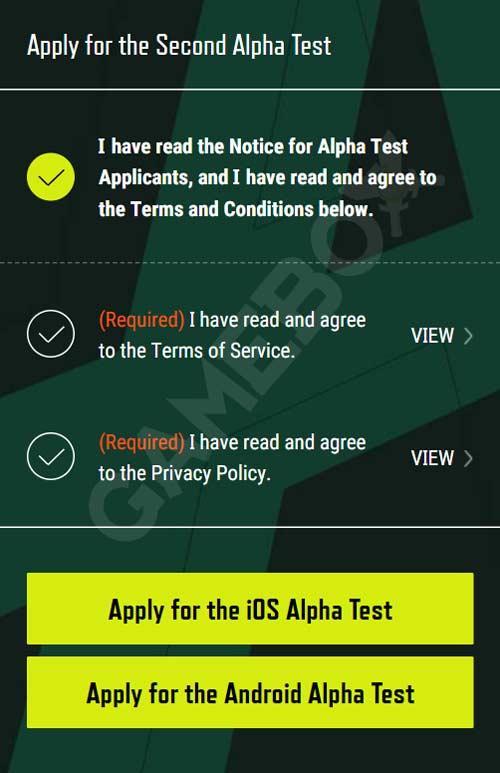 Регистрация на второй альфа-тест PUBG: New State
