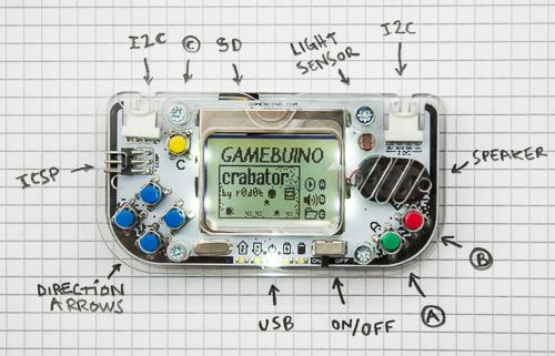 Gamebuino - Game console yang memakai LCD nokia 3310