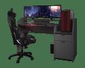 Parisot Gaming Bureau Grijs 154