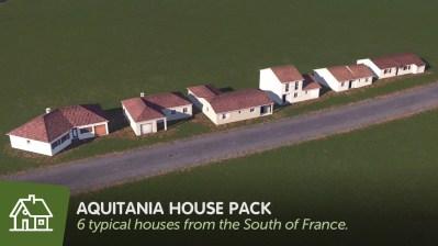 Скачатьмод Aquitania House Packдля Cities Skylines