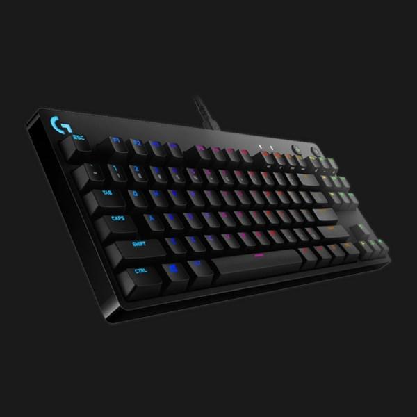 Logitech G Pro Mechanical Gaming Tastatur Mekanisk RGB Kabling