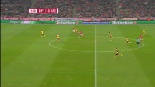 Xhaka & Coquelin simply don't have the recovery pace to get behind the ball & regain shape